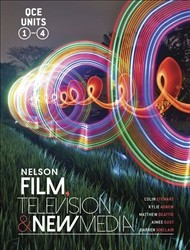 Image for Nelson Film Television and New Media for QCE Student Book with 1 Access Code for 26 Months Units 1-4