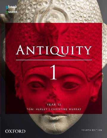 Image for Antiquity 1 Year 11 Student book + obook assess