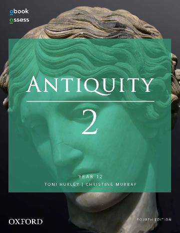 Image for Antiquity 2 Year 12 Student book + obook assess