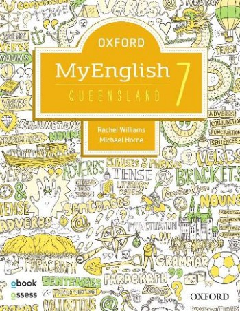 Image for Oxford MyEnglish 7 for QLD Curriculum Student book + obook assess + Upskill