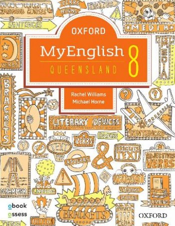 Image for Oxford MyEnglish 8 for QLD Curriculum Student book + obook assess + Upskill