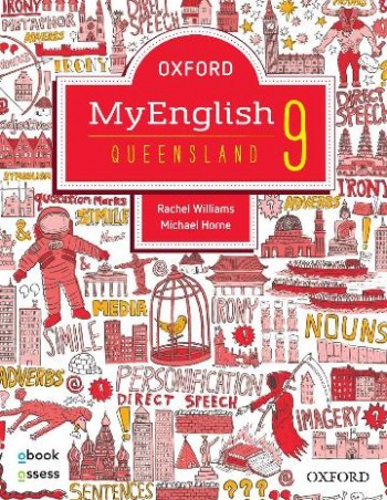 Image for Oxford MyEnglish 9 for QLD Curriculum Student book + obook assess + Upskill