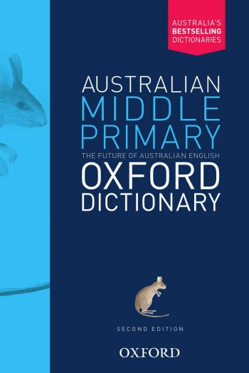 Image for Australian Middle Primary Oxford Dictionary [Second Edition]