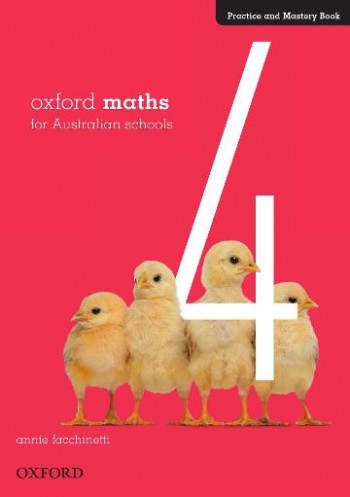 Image for Oxford Maths 4 Practice and Mastery Book