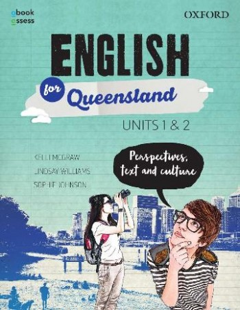 Image for English for Queensland Units 1&2 Student book + obook assess