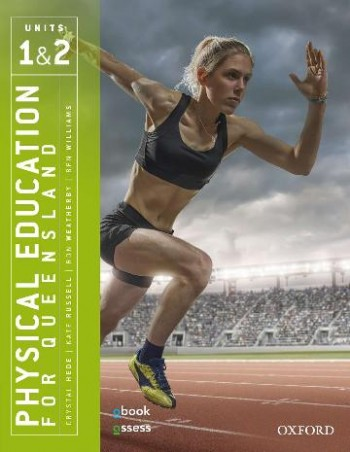 Image for Physical Education for Queensland Units 1&2 (Second Edition) Student book + obook assess