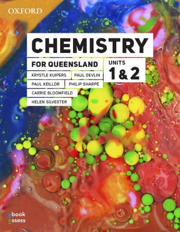 Image for Chemistry for Queensland Units 1&2 Student book + obook assess