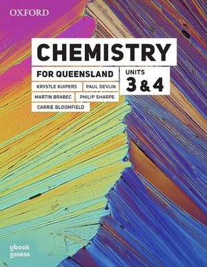 Image for Chemistry for Queensland Units 3&4 Student book + obook assess