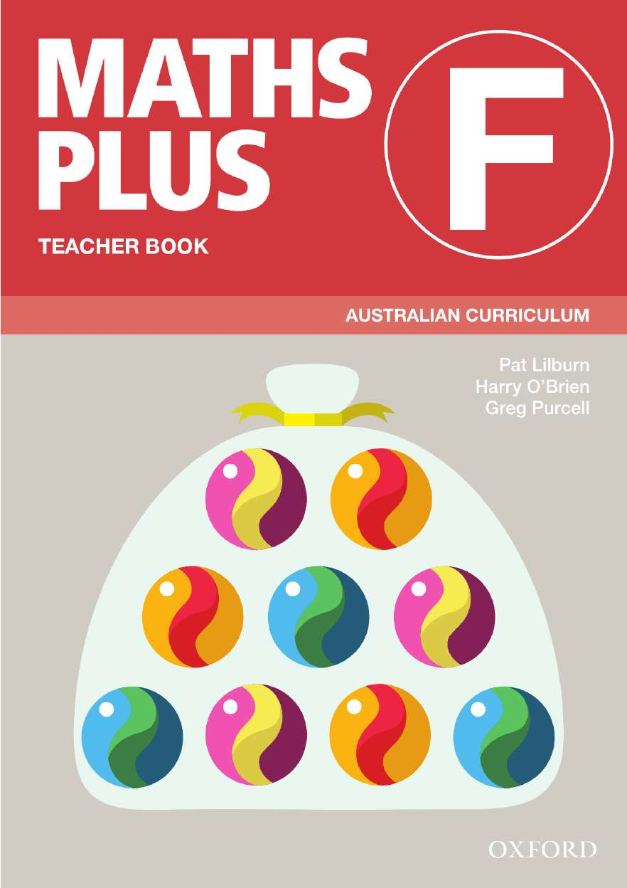 Image for Maths Plus F Teacher Book : Australian Curriculum [New for 2020]