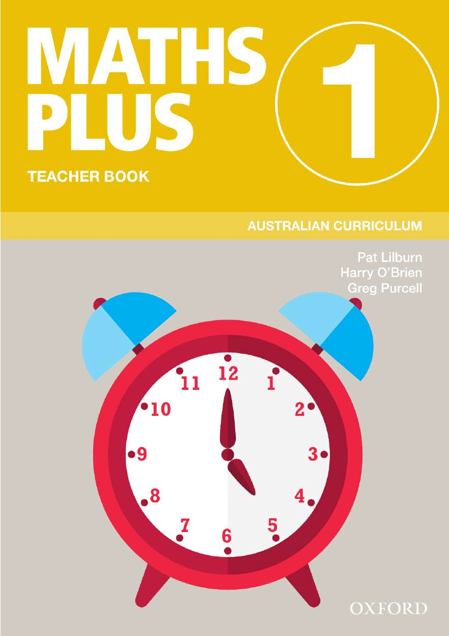 Image for Maths Plus 1 Teacher Book : Australian Curriculum [New for 2020]