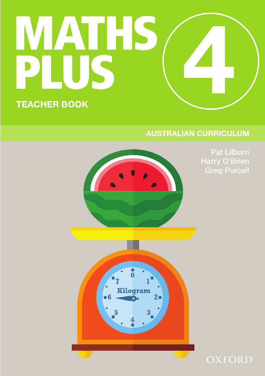 Image for Maths Plus 4 Teacher Book : Australian Curriculum [New for 2020]