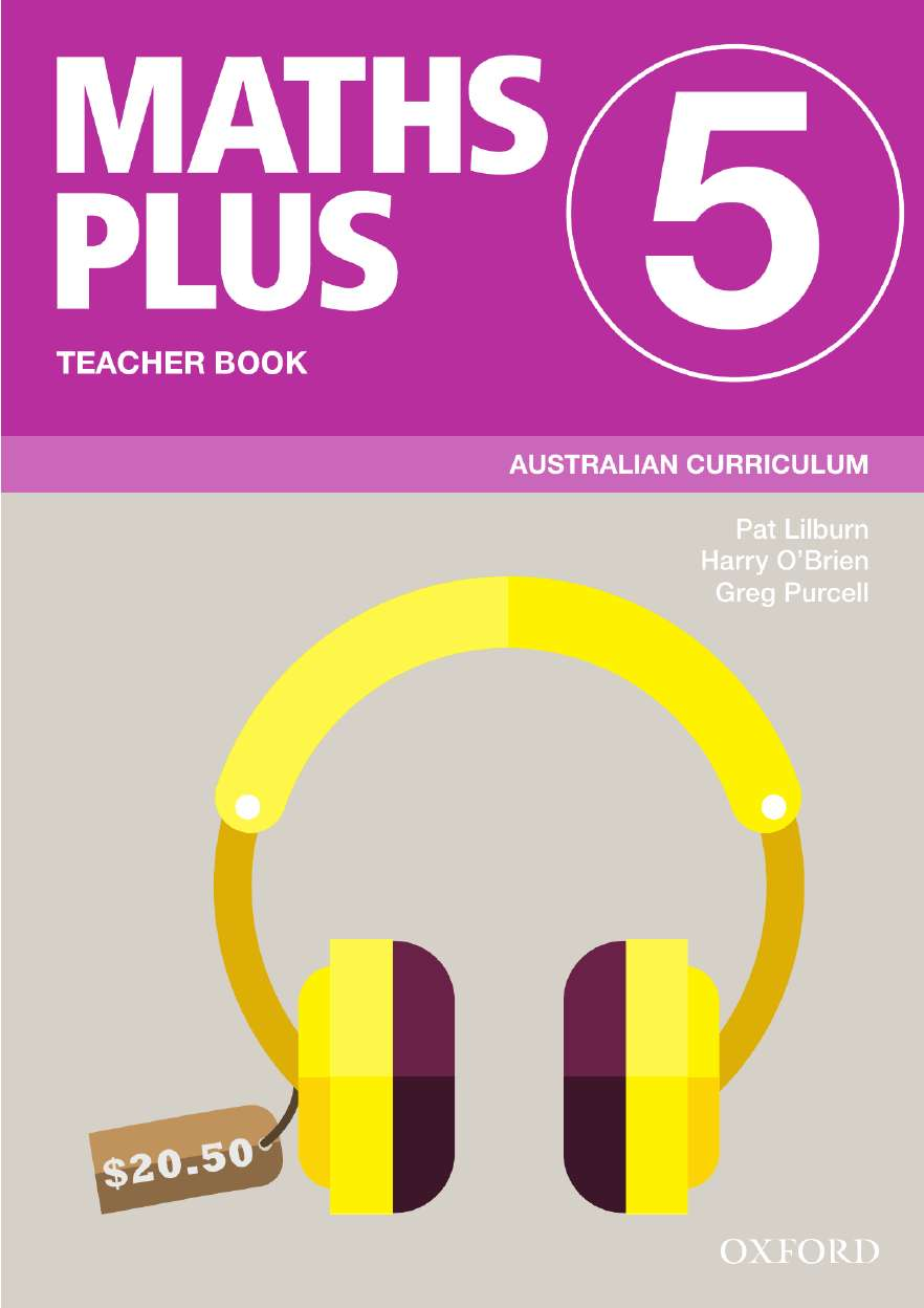 Image for Maths Plus 5 Teacher Book : Australian Curriculum [New for 2020]