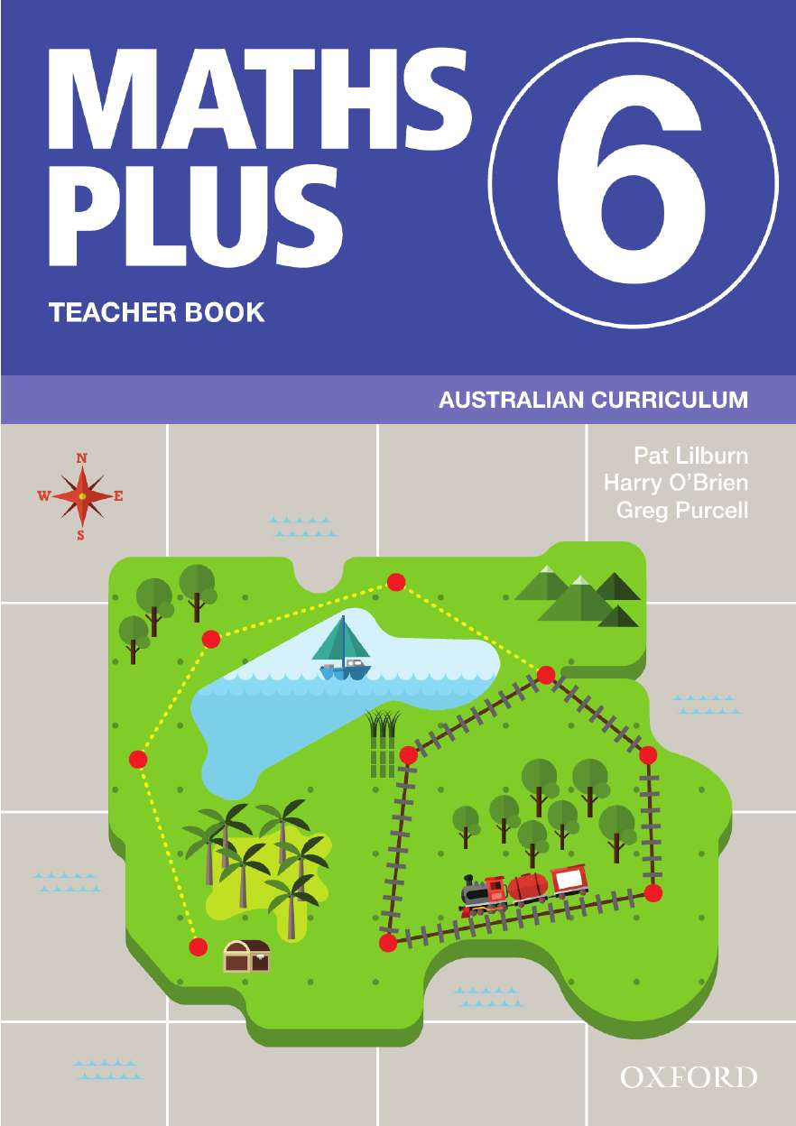 Image for Maths Plus 6 Teacher Book : Australian Curriculum [New for 2020]