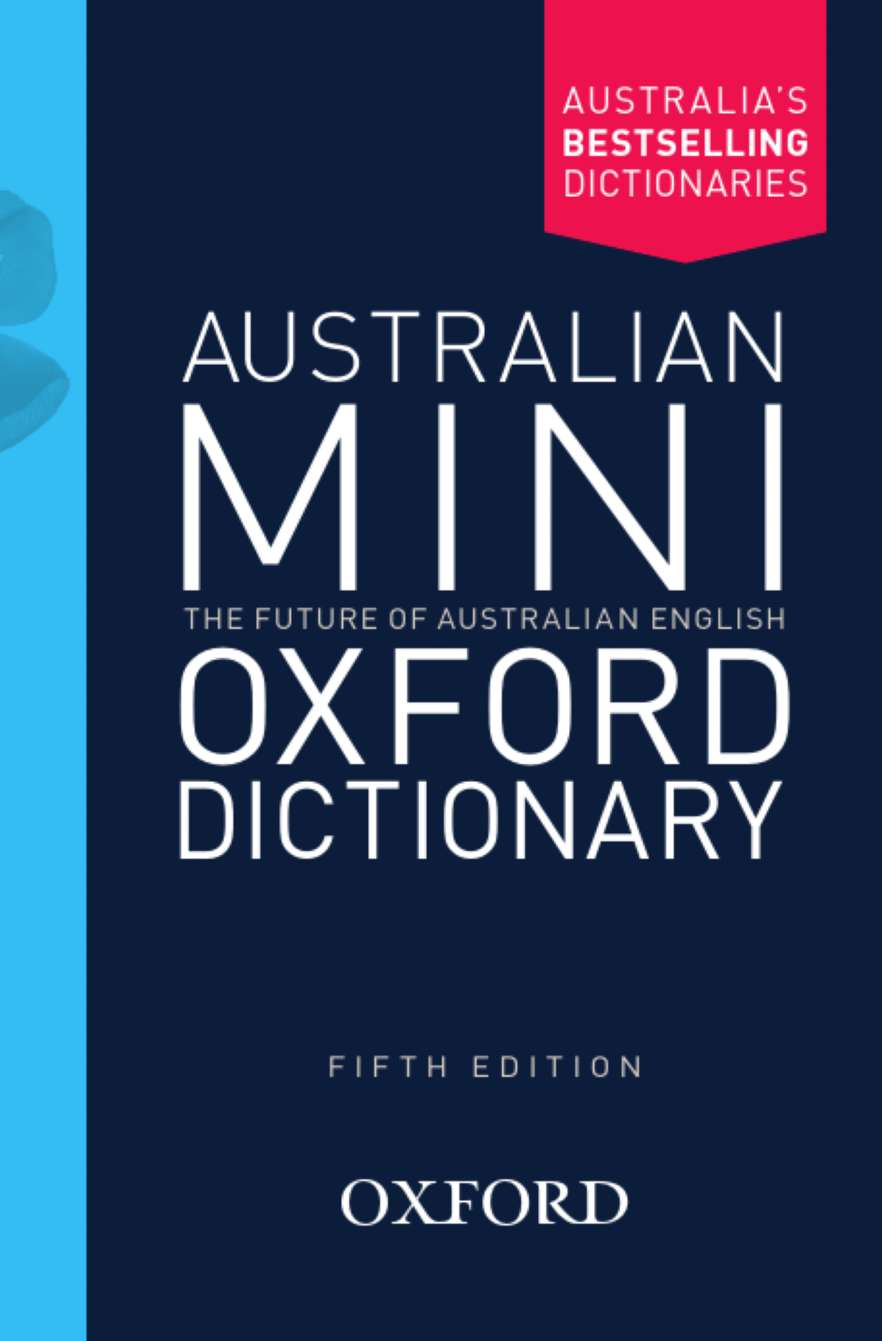 Image for Australian Mini Oxford Dictionary [Fifth Edition]