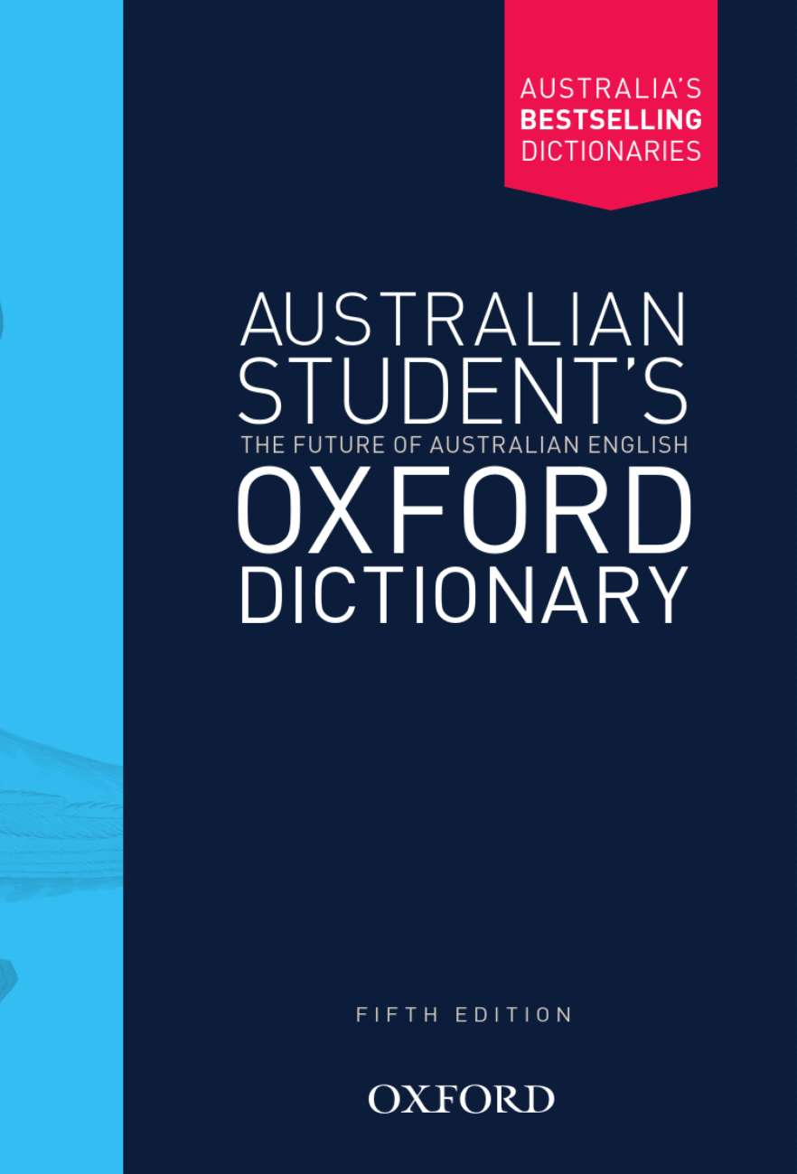 Image for Australian Student's Oxford Dictionary [Fifth Edition]