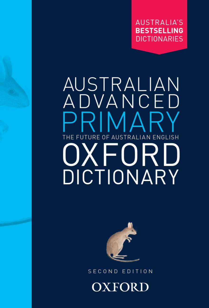 Image for Australian Advanced Primary Oxford Dictionary [Second Edition]