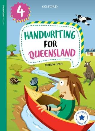 Image for Oxford Handwriting for Queensland Year 4