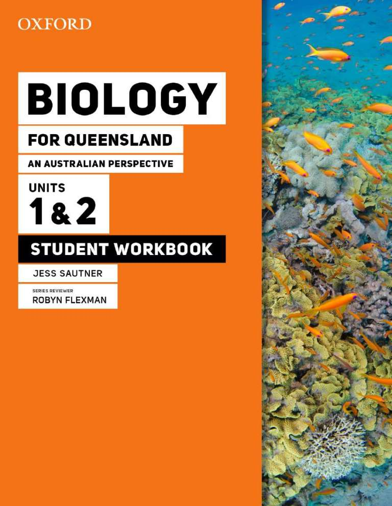 Image for Oxford Biology for Queensland : An Australian Perspective Units 1&2 Student Workbook