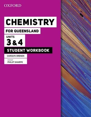 Image for Oxford Chemistry for Queensland : Units 3&4 Student Workbook