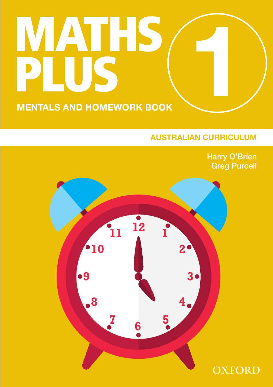 Image for Maths Plus Mentals and Homework Book 1 : Australian Curriculum [New for 2020]