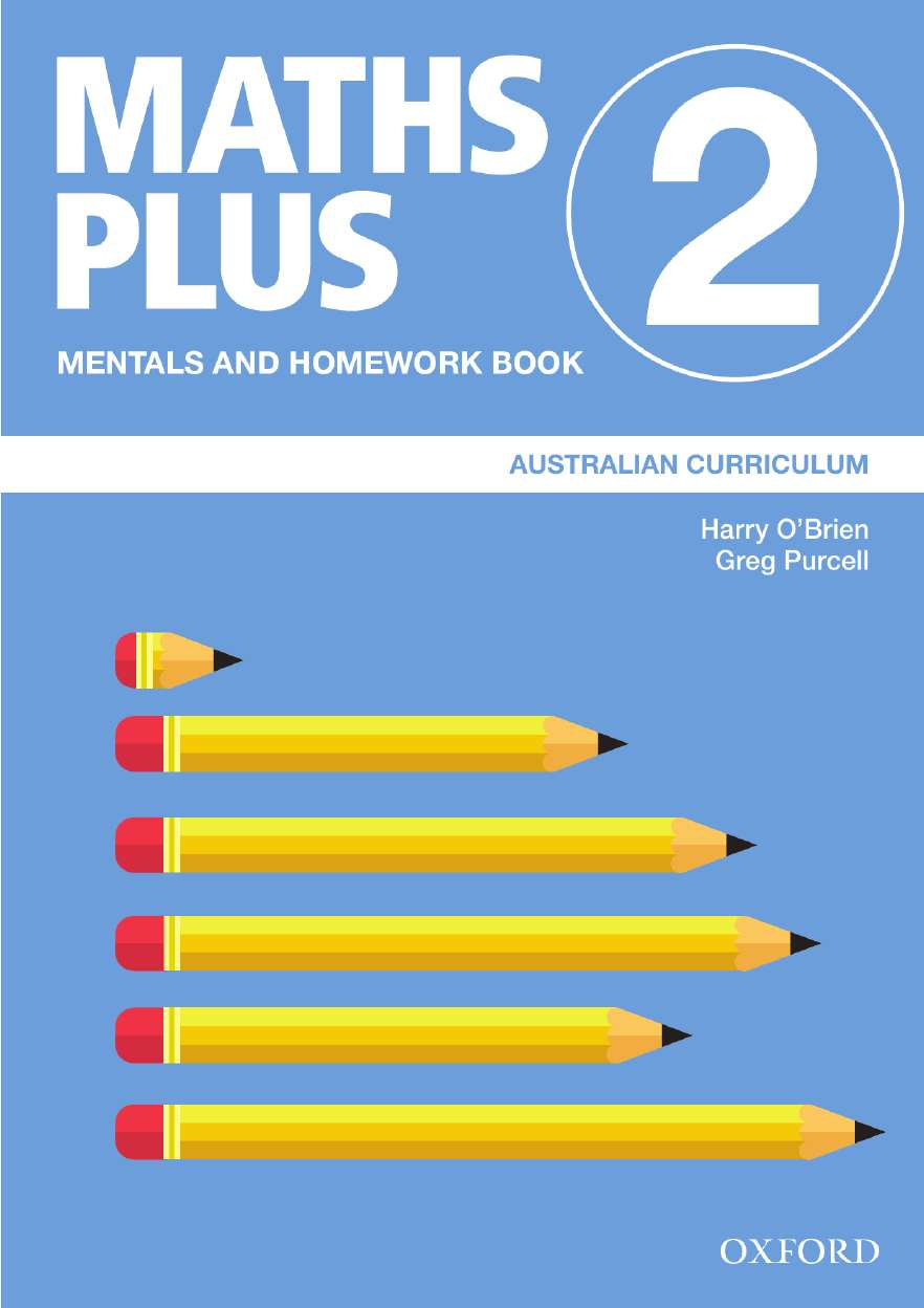 Image for Maths Plus Mentals and Homework Book 2 : Australian Curriculum [New for 2020]