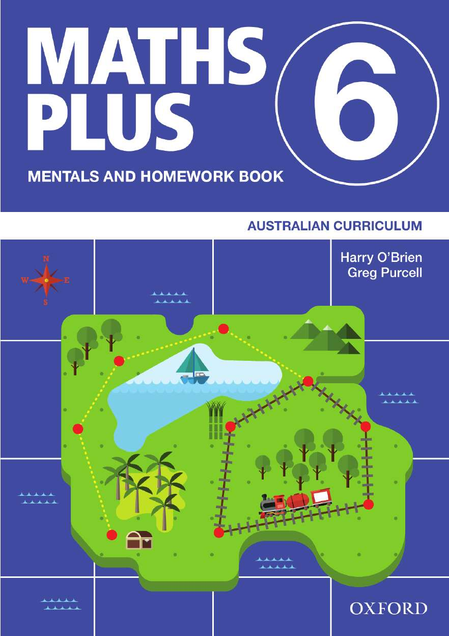 Image for Maths Plus Mentals and Homework Book 6 : Australian Curriculum [New for 2020]