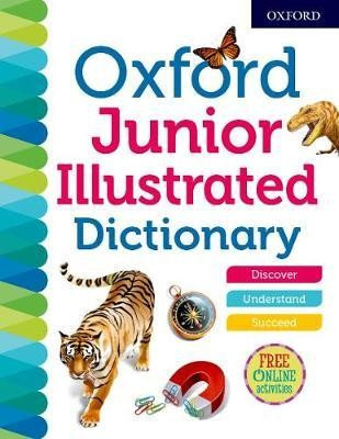 Image for Oxford Junior Illustrated Dictionary 2018 Fourth Editon [hardcover]