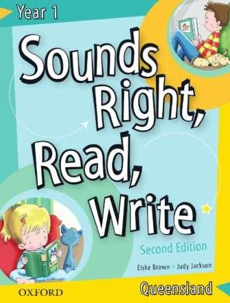 Image for Sounds Right, Read, Write Queensland Book 1 [2nd Edition]