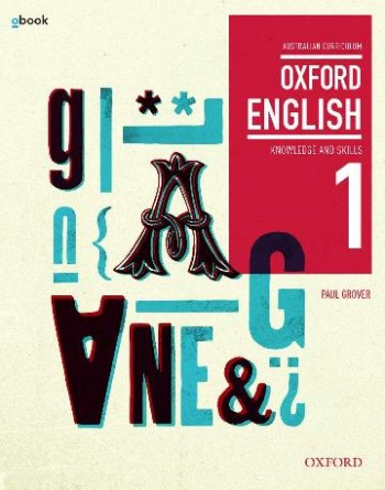 Image for Oxford English 1 Knowledge and Skills AC Student book + obook assess