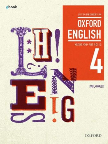 Image for Oxford English 4 Knowledge and Skills AC Student Book + obook assess