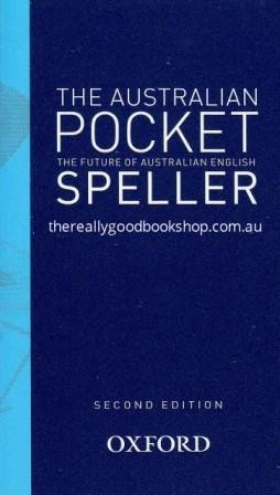 Image for The Australian Pocket Speller [Second Edition] Oxford *** TEMPORARILY OUT OF STOCK ***