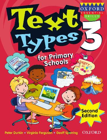 Image for Text Types for Primary Schools Book 3 [Second Edition]