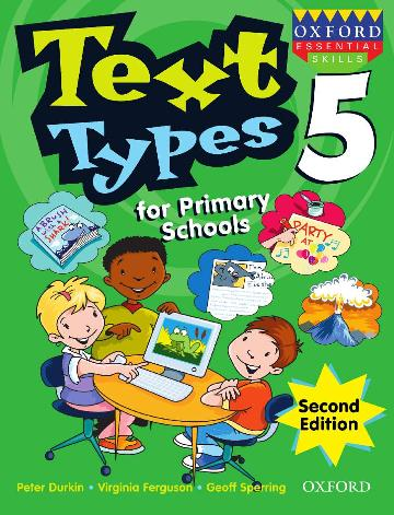 Image for Text Types for Primary Schools Book 5 [Second Edition]