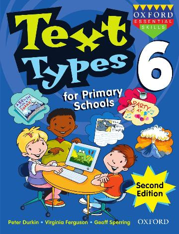 Image for Text Types for Primary Schools Book 6 [Second Edition]