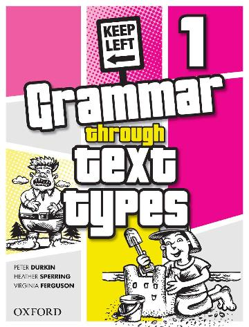 Image for Grammar Through Text Types 1