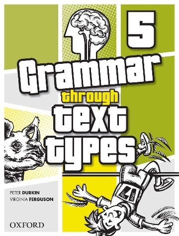 Image for Grammar Through Text Types 5