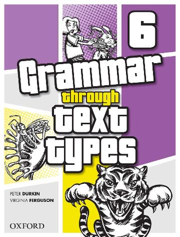 Image for Grammar Through Text Types 6
