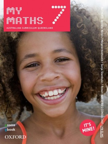 Image for MyMaths 7 Australian Curriculum for Qld Student book + obook assess