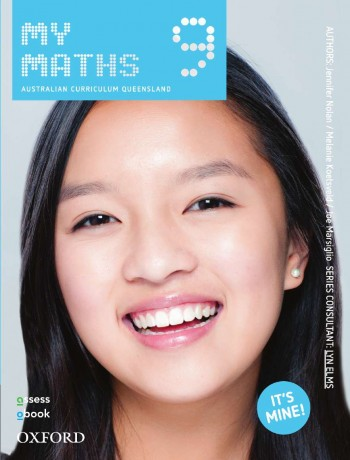 Image for MyMaths 9 Australian Curriculum for Qld Student book + obook assess