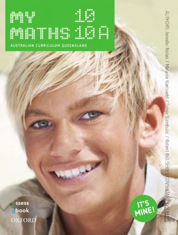 Image for MyMaths 10 Australian Curriculum for Qld Student book + obook assess