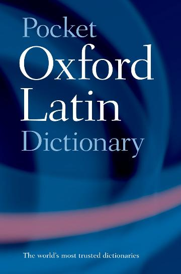 Image for Pocket Oxford Latin Dictionary [Third Edition]