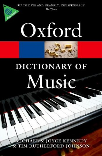 Image for The Oxford Dictionary of Music Sixth Edition