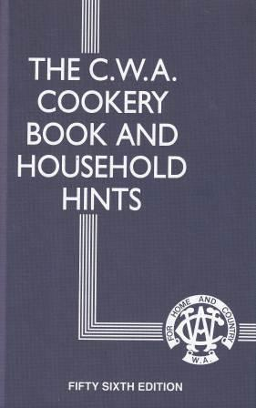 Image for The CWA Cookery Book and Household Hints 56th Edition