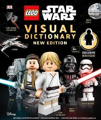 Image for LEGO Star Wars Visual Dictionary New Edition : With exclusive Finn minifigure
