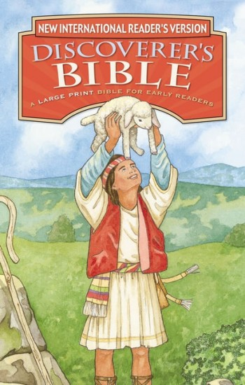 Image for NIrV Discoverer's Bible Large Print for Early Readers