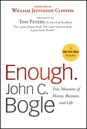 Image for Enough : True Measures of Money, Business, and Life
