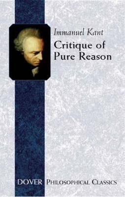 Image for Critique of Pure Reason