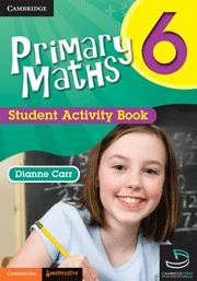 Image for Primary Maths 6 Student Activity Book and Cambridge HOTMaths Bundle