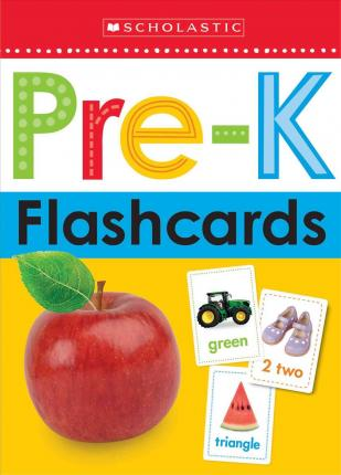 Image for Pre-K Flashcards : 26 Giant Flashcards (Age 0+ Years)