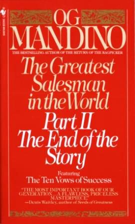 Image for The Greatest Salesman in the World Part II : The End of the Story